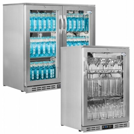 Interlevin GF10H SS Glass Froster/Sub Zero Cooler