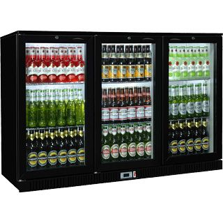 Sterling Pro SP3BC-BH Triple Hinged Door Bottle Cooler