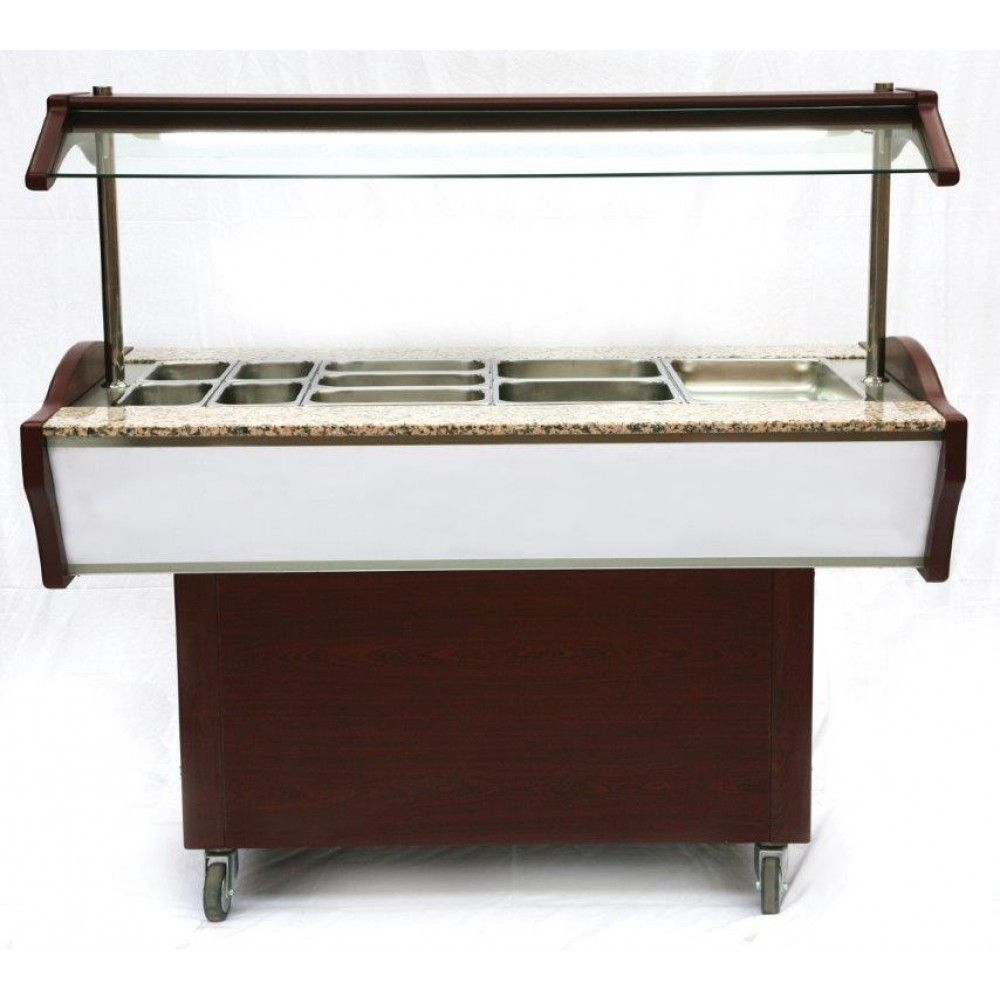 Artikcold SBHOT4 Heated Salad Bar