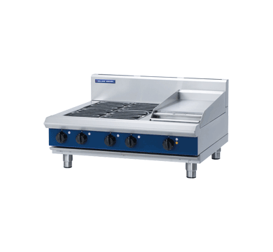 Blue Seal Evolution E516C-B Four Open Radiant Element Hob & Griddle