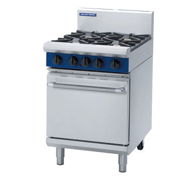 Blue Seal Evolution G504D 4 Burner Range Static Oven