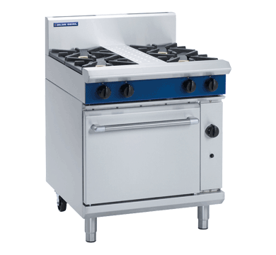 Blue Seal Evolution G505D 4 Burner Range Static Oven