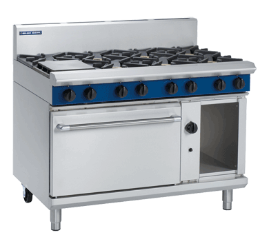 Blue Seal Evolution G508D 8 Burner Range Static Oven