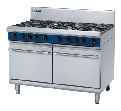 Blue Seal Evolution G528D 8 Burner Range Double Static Oven