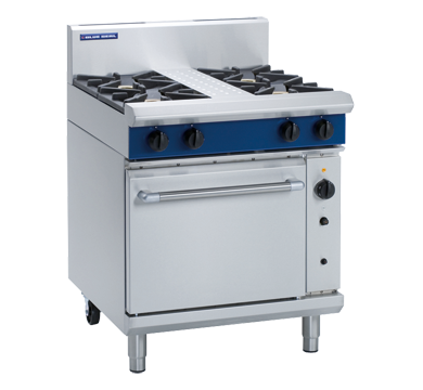 Blue Seal Evolution G54D 4 Burner Range Convection Oven
