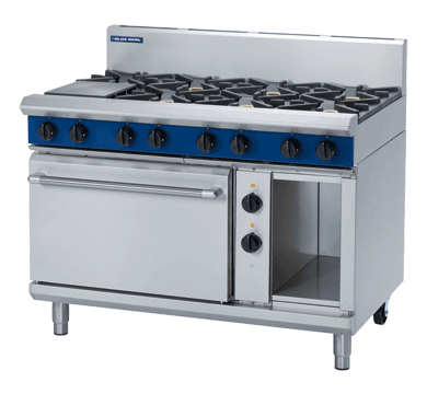 Blue Seal Evolution G58D 8 Burner Range Convection Oven