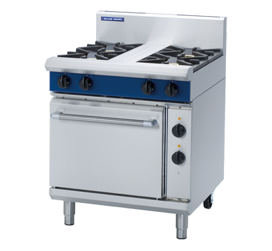 Blue Seal Evolution GE505D 4 Burner Range with Electric Oven