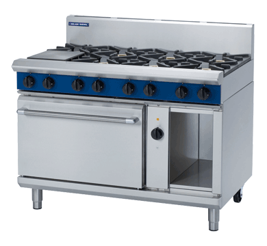 Blue Seal Evolution GE58D 8 Burner Range with Electric Oven