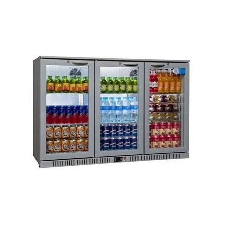 Coolpoint HX-300 Grey Triple Door Bottle Cooler