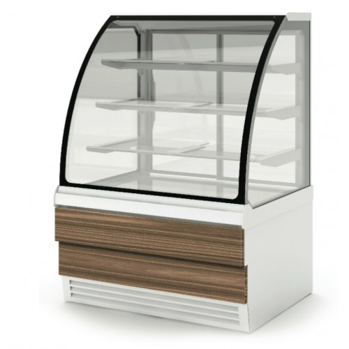 ES System K CAR/10R Carina 02 Glazed Patisserie Counter