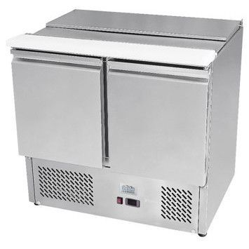 Ice-A-Cool ICE3800GR 2 Door Refrigerated Saladette Prep Counter 300 Litres