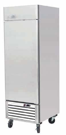 Ice-A-Cool ICE8950 Single Door Upright Refrigerator 580 Litres