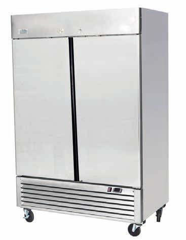 Ice-A-Cool ICE8960 Double Door Upright Refrigerator 1300 Litres