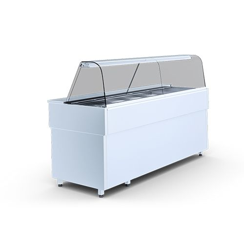 Igloo Casia1.5H Heated Bain Marie Display Counter