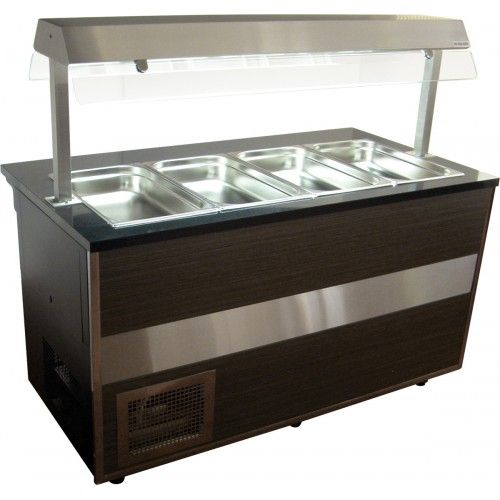 Igloo Gastroline GLH-1000 Open Gastronorm Hot Servery Counter