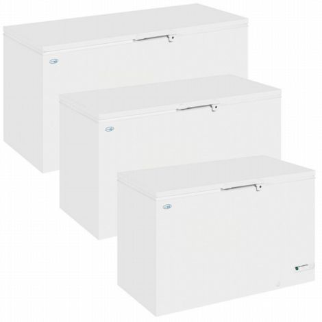 Interlevin LHF460 Solid Lid Chest Freezer