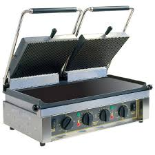 Roller Grill MAJESTIC FT Twin - Flat Top & Base Plates Contact Grills