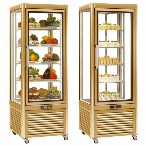 Tecfrigo PRISMA 400QG Glass Display Chiller