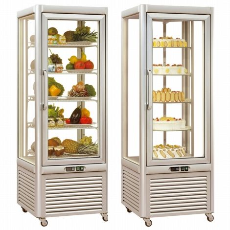 Tecfrigo PRISMA 400QS Glass Display Chiller